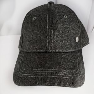 BMW Brand Hat: Gray Adjustable